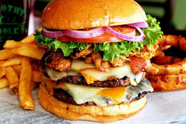 Самые вкусные гамбургеры